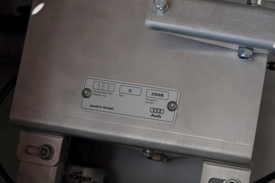 An Auto Union Type C 'Silver Arrow' child's pedal car by Audi Quattro GmbH, 2008,