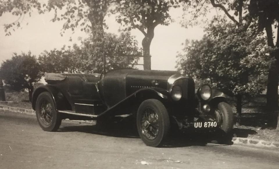 1929 Bentley 4½-Litre Tourer  Chassis no. RL3428
