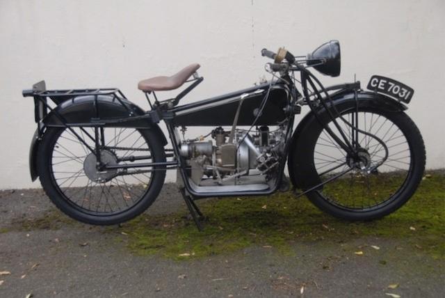 1921 ABC 398cc Frame no. 1472 Engine no. 1472