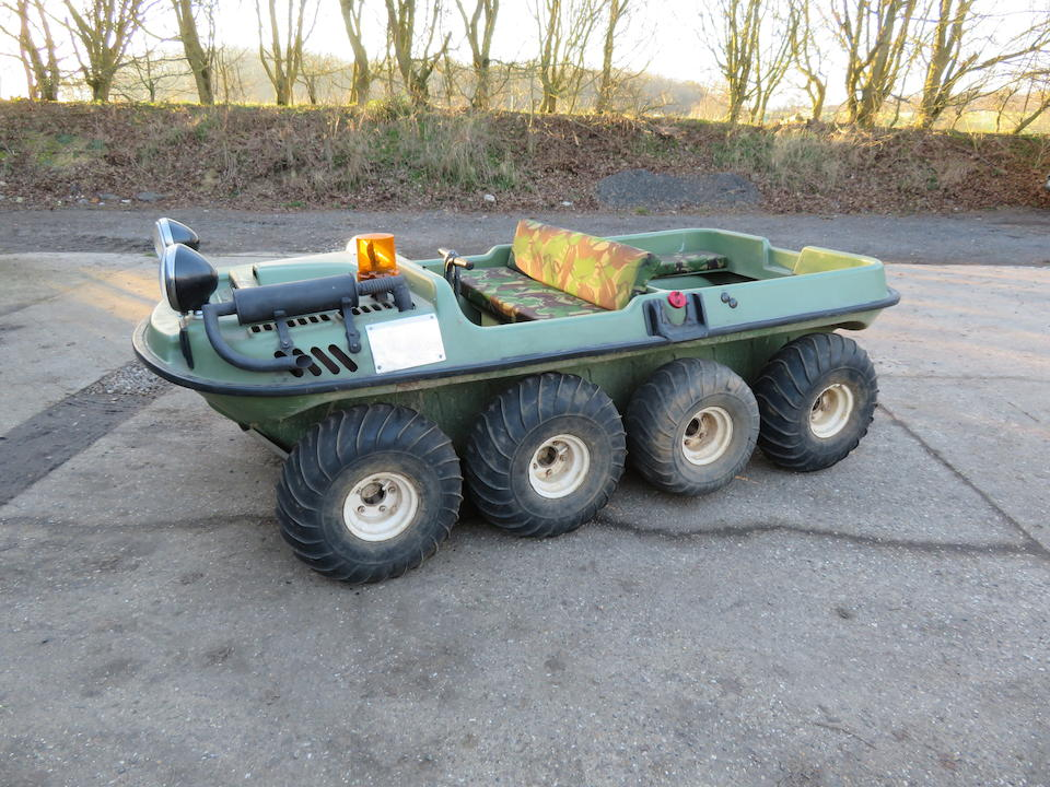 Crayford Argocat All-Terrain Vehicle Frame no. to be advised Engine no. to be advised