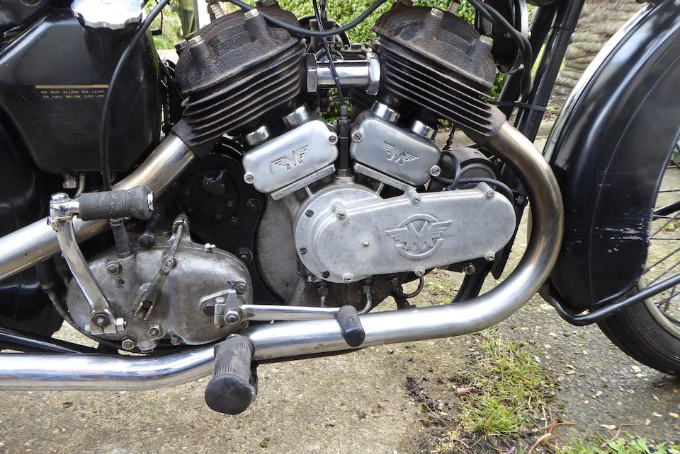 1936 Matchless 982cc Model X Frame no. 514 Engine no. 37/X 5050