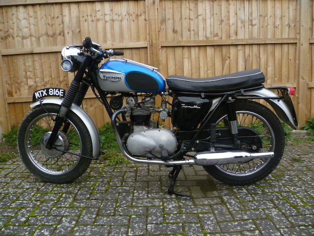 1967 Triumph 349cc Tiger 90 Frame no. T90 H46880 Engine no. T90 H33931