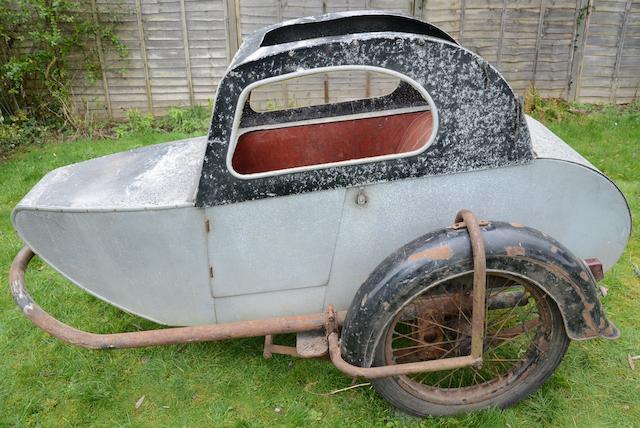 A believed Bracknell single-seater sidecar