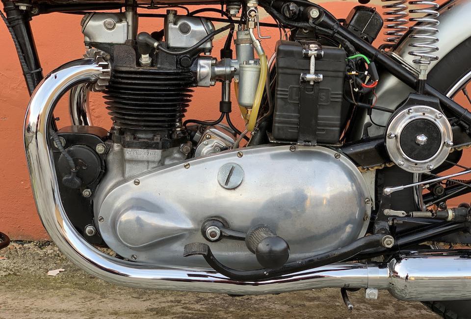 1947 Triumph 498cc Tiger 100 Frame no. TF 13783 Engine no. 47 T100 87166