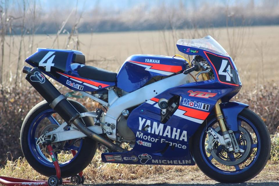 The ex-Yamaha Motor France; Jean-Marc Deletang/Jean-Philippe Ruggia/Christer Lindholm, 1997 Yamaha 749cc YZF-R7 Endurance Racing Motorcycle Frame no. FN-0000-973