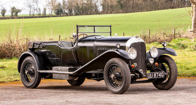 1929 Bentley 4½-Litre Tourer  Chassis no. RL3428