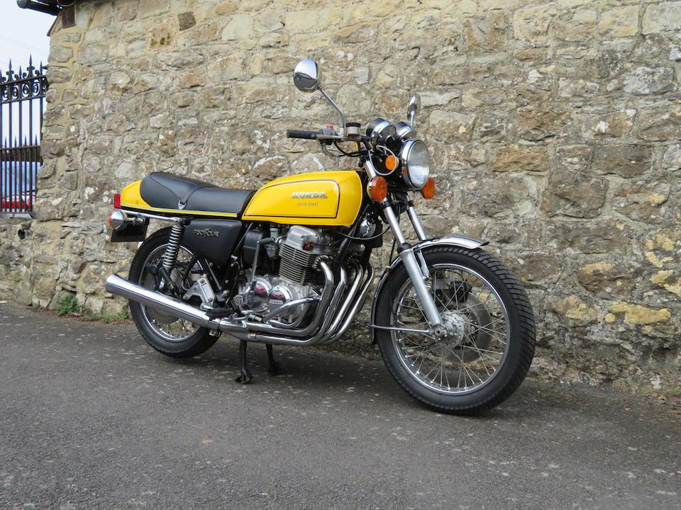 c.1975 Honda CB750F Super Sport Frame no. CB750F 2011362 Engine no. to be advised