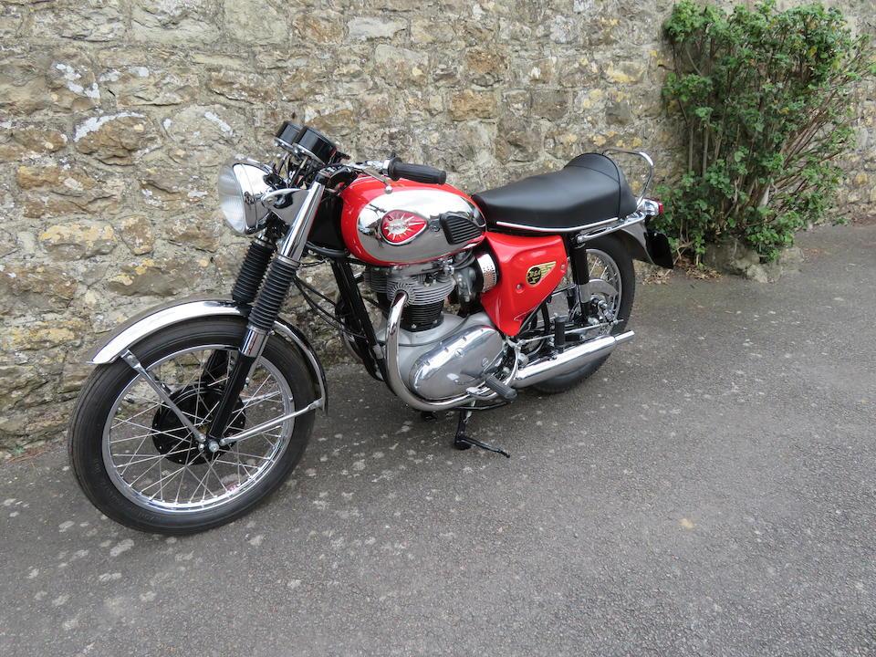 1966 BSA 654cc Lightning Frame no. A65L 14440 Engine no. A65L 14475