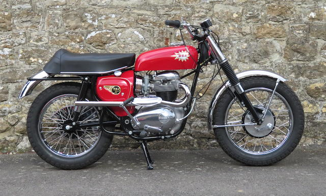 1966 BSA 654cc Hornet Frame no. A50C 2031 L Engine no. A65H 376
