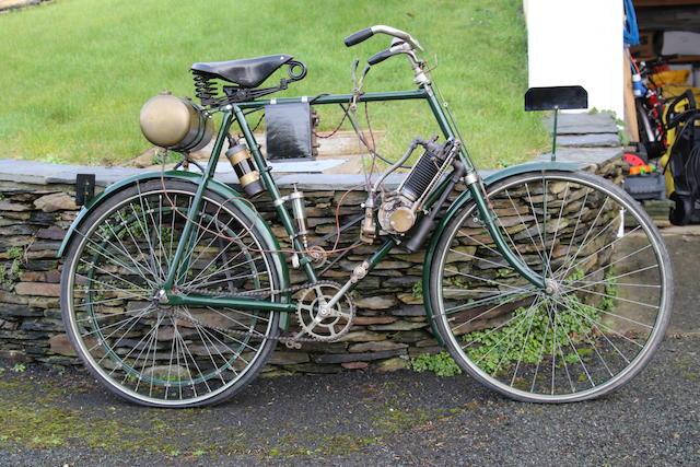1903 Clement-Garrard 143cc Single Speed   Frame no. D387 Engine no. LM 947