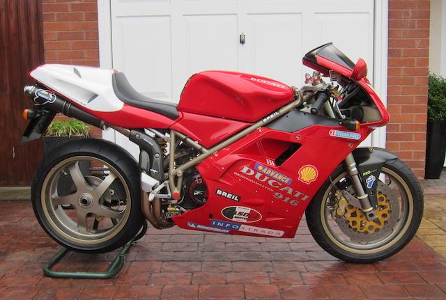 1997 Ducati 996cc 916 SPS Frame no. ZDMH100AAVB000280 Engine no. 000334