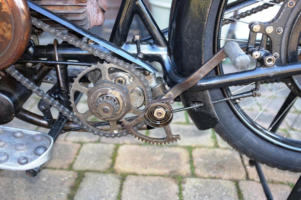 1925 Douglas CW 348cc Frame no. CF3461 Engine no. 80256