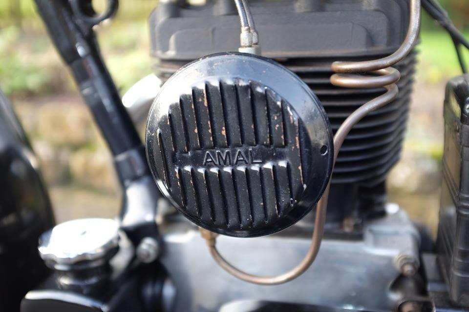 1931 Matchless 397cc Silver Arrow Frame no. 1344 Engine no. A1409