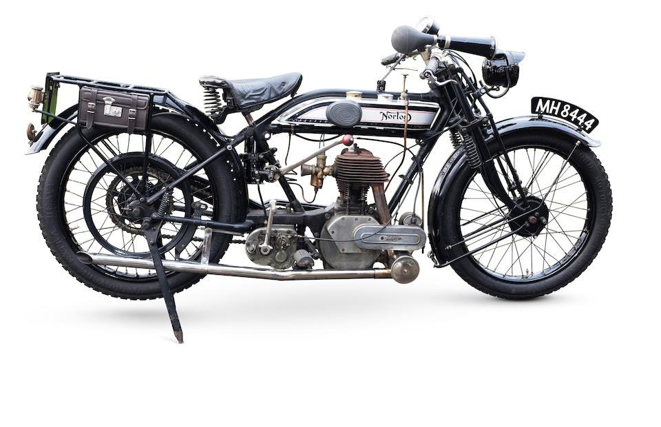 1925 Norton 490cc Model 16H Frame no. 18291 (see text) Engine no. 25647