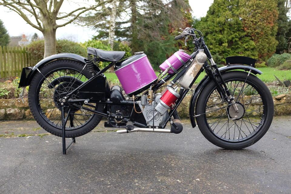 1926 Scott 596cc Super Squirrel Frame no. 2067 Engine no. Y9002