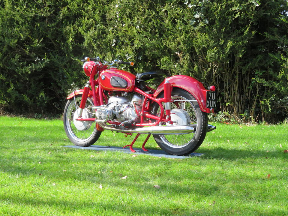1958 BMW 494cc R50 Frame no. 559124 Engine no. 559124