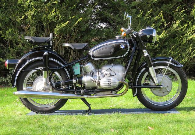 1956 BMW 494cc R50 Frame no. 555288 Engine no. 555288 (re-stamped)