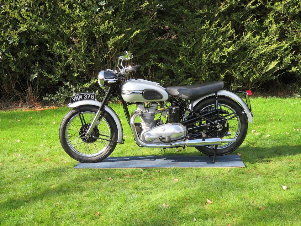 1951 Triumph 498cc Tiger 100 Frame no. T100-16006NA Engine no. T100-16006NA