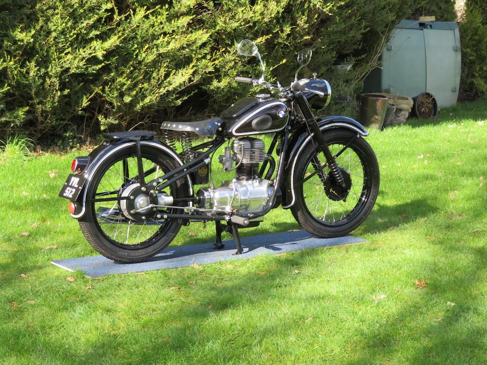 1949 BMW 247cc R24 Frame no. 205368 Engine no. 205368