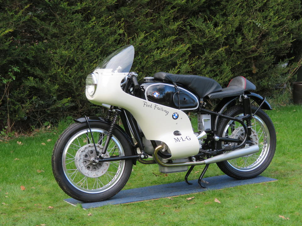 Reputedly ex-MLG, World Record-breaking, 1961 BMW 597cc R69S Frame no. 652285 Engine no. 6555260