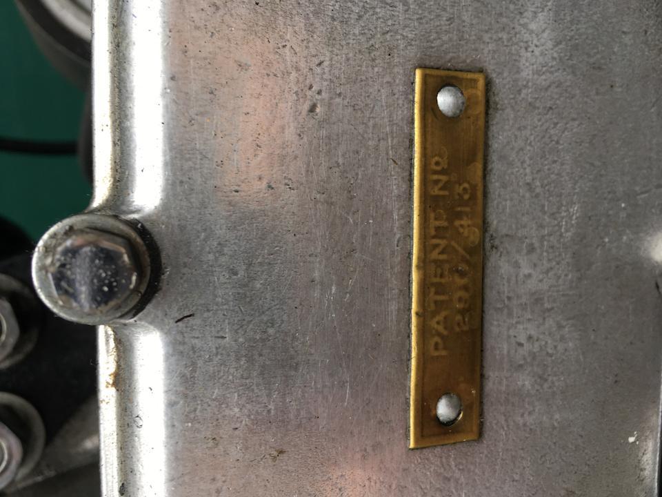 1929 AJS 349cc Model M6 'Twin Port' Frame no. M104570 Engine no. M6 104570