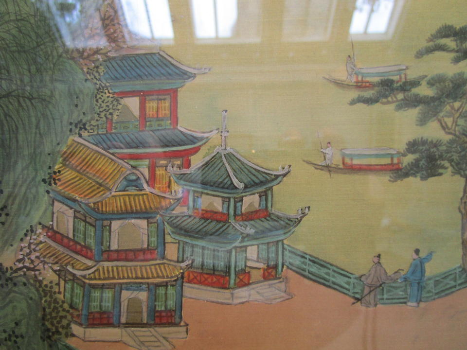 In the manner of Chen Le Sheng Kowloon, cyclically dated Gengxu year, corresponding to 1910
