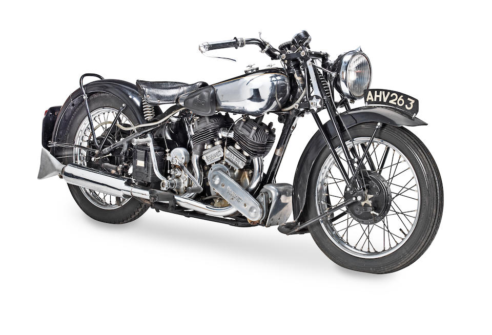1939 Brough Superior 982cc SS80 Frame no. M8/2122 Engine no. BS/X 4772