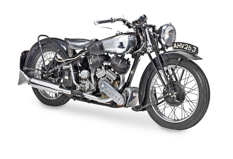 1939 Brough Superior 982cc SS80 Frame no. M8/2122 Engine no. BS/X 4772