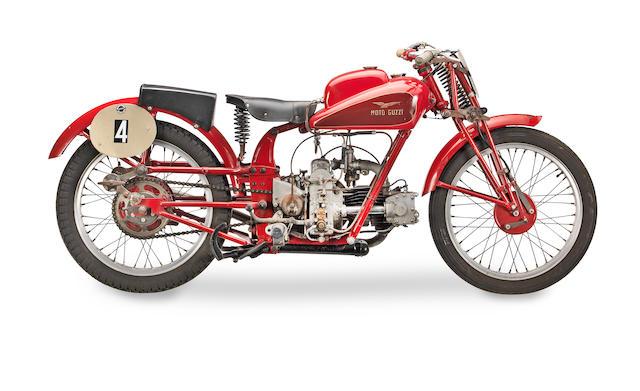 c.1935 Moto Guzzi 250cc Racing Motorcycle Frame no. 1.P.E.4004 & 27244 Engine no. D209