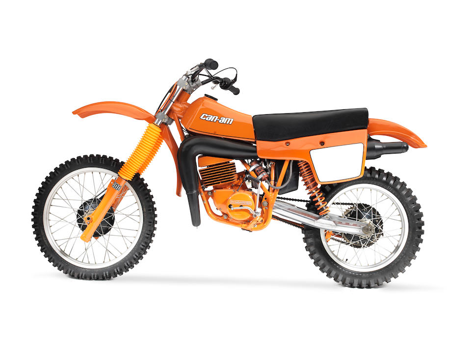 1980 Can-Am 399cc MX6 Moto-crosser Frame no. 8084000001 Engine no. 123535