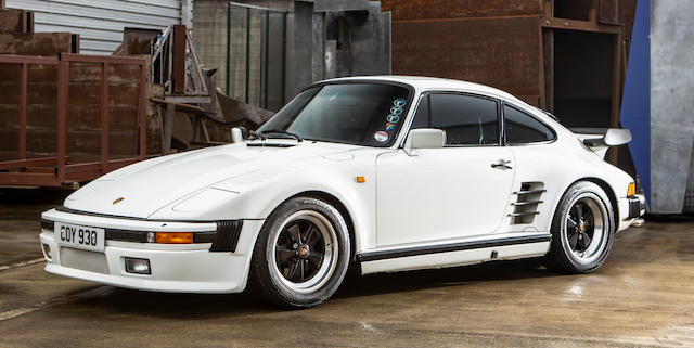 1986 Porsche 911 Turbo SE 'Slant Nose' Coupé  Chassis no. WP0ZZZ93ZGS000987