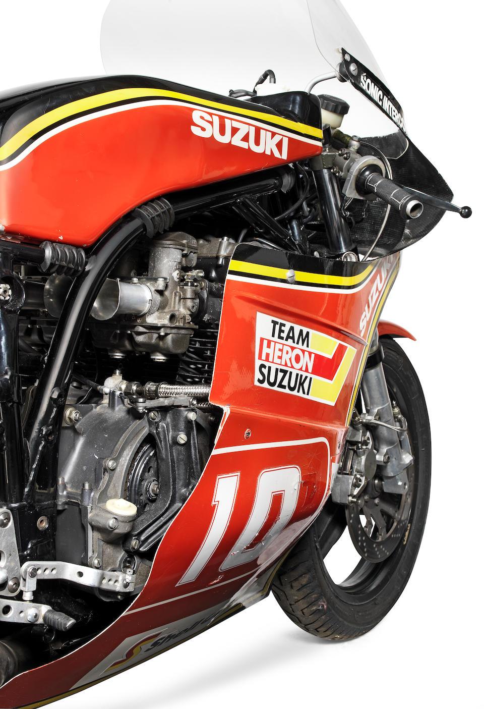 Ex-works; Mick Grant; North West 200-winning, 1982 Suzuki 998cc XR69 TT Formula 1 Racing Motorcycle Engine no. GS100R-83002