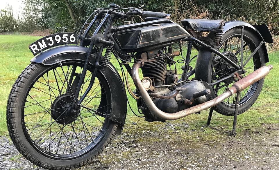 1927 Sunbeam 493cc Model 9 Frame no. D1210 Engine no. L1185
