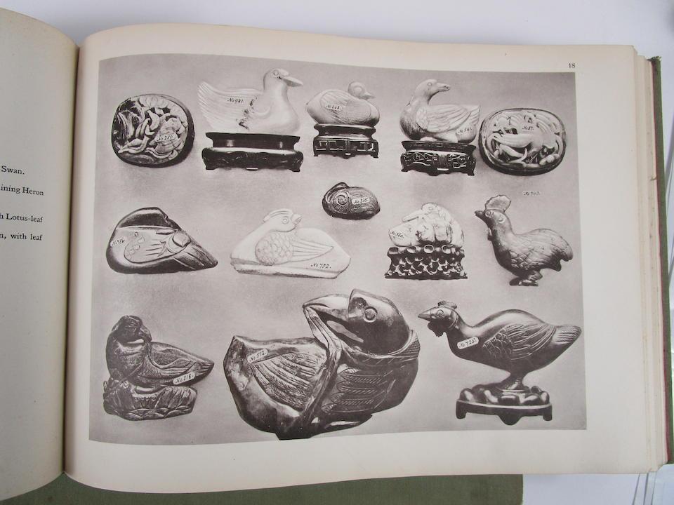 P. De Tanner, Chinese Jade Ancient and Modern, vols I-II, Berlin, 1925 (2)