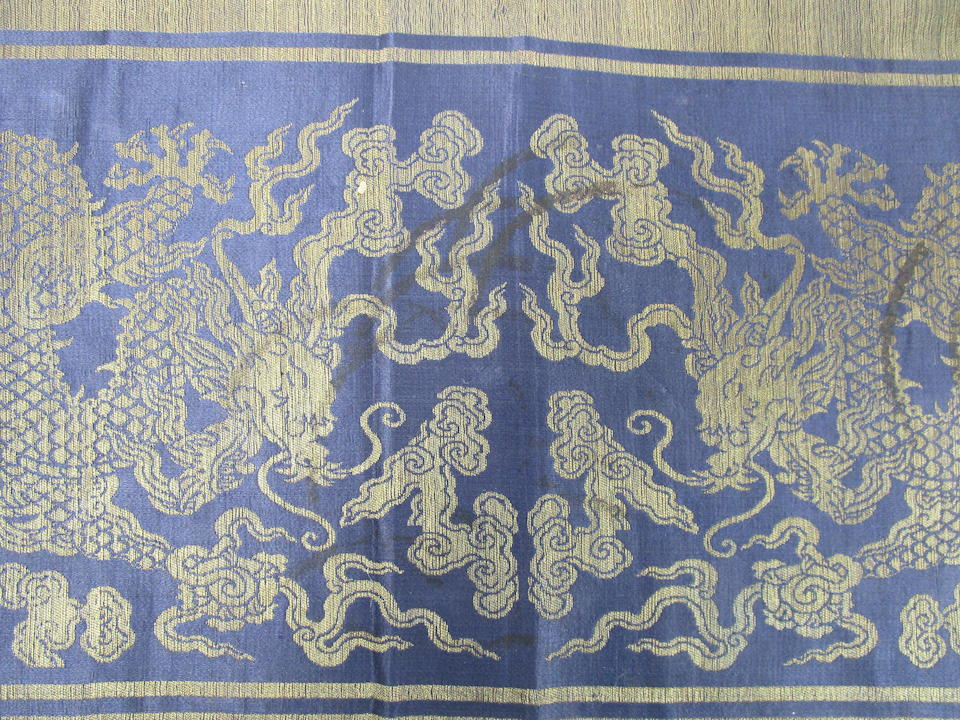 A silk robe and other textiles Circa 1900 (21)