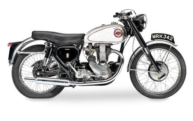 1954 BSA 500cc Gold Star Frame no. CB32.583 Engine no. BB34.GS.1235