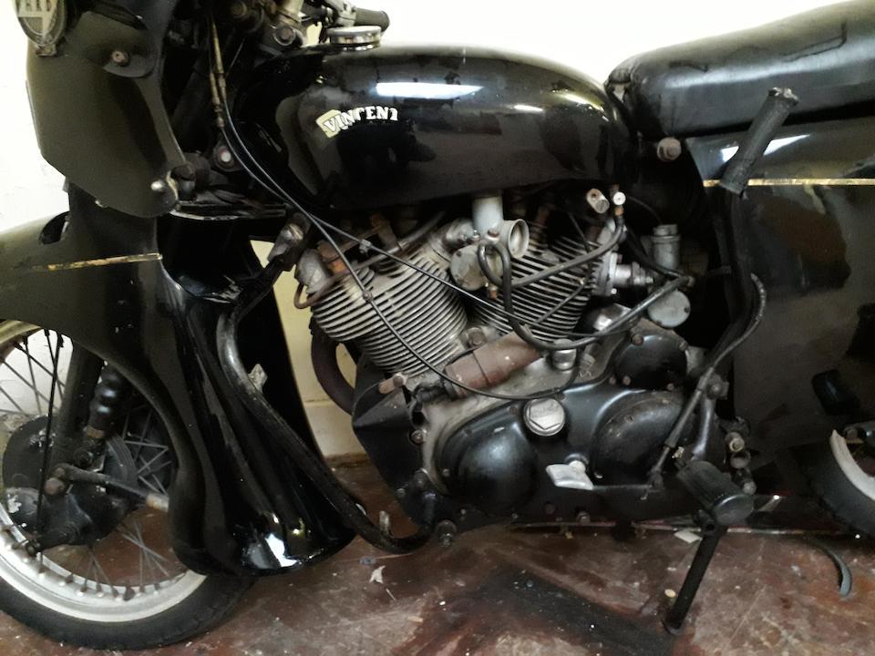 1955 Vincent 998cc Black Prince Frame no. RD12848B/F Rear Frame no. RD12848 Engine no. F10AB/2B/10948 Crankcase mating no. 26V