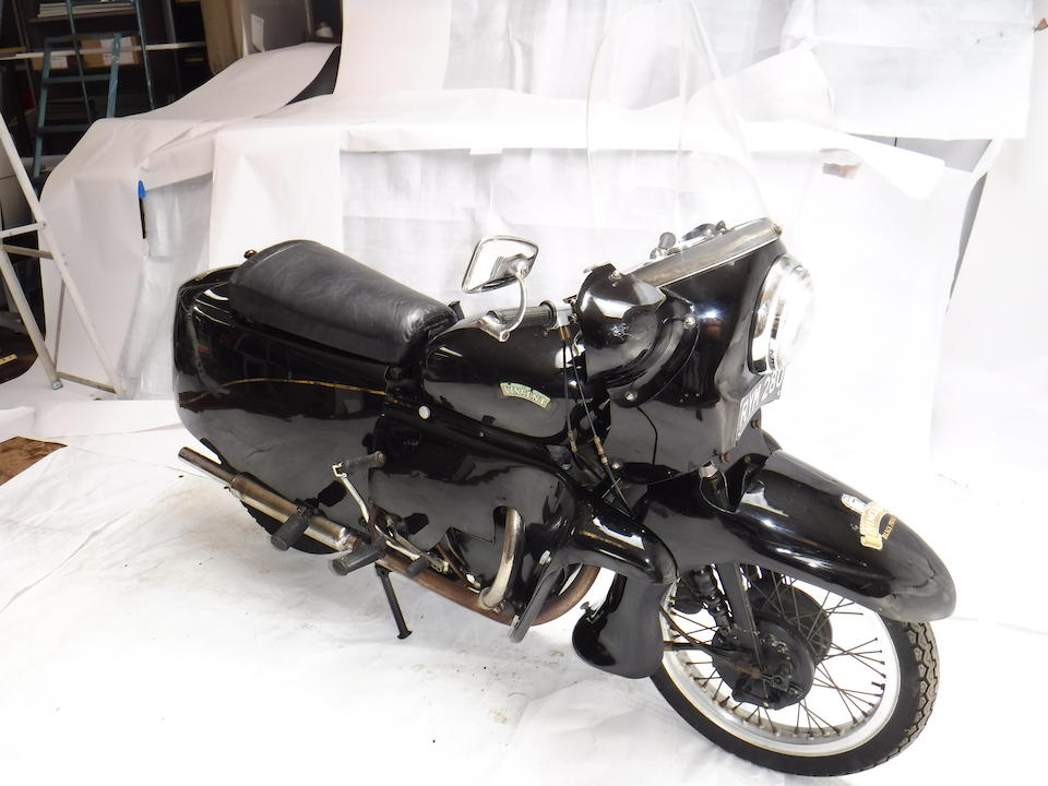 1955 Vincent 998cc Black Prince Frame no. RD12848B/F Rear Frame no. RD12848 Engine no. F10AB/2B/10948 Crankcase mating no. 26V
