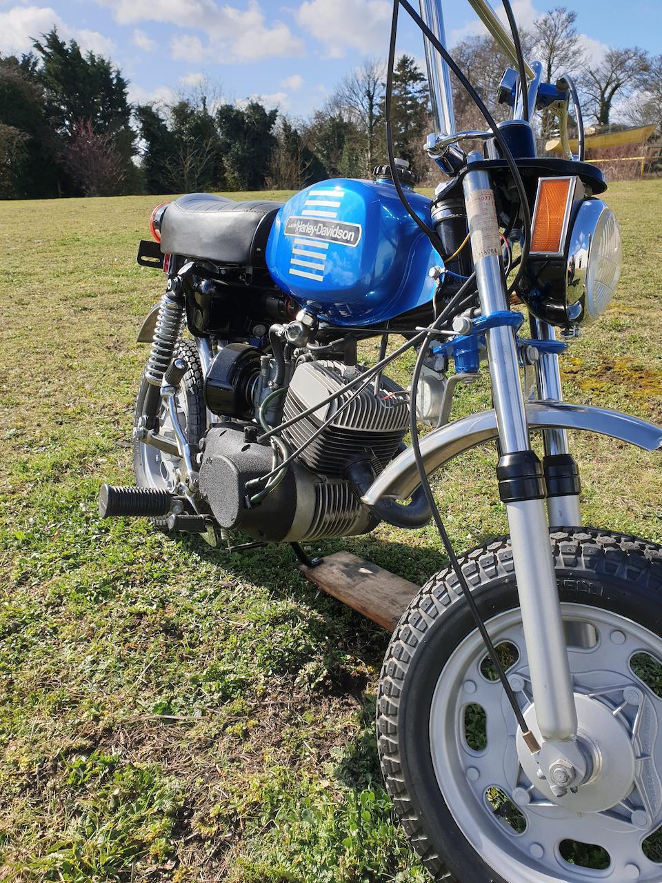 1973 Harley-Davidson X90 Frame no. 2D12463H3 Engine no. 2D12463H3