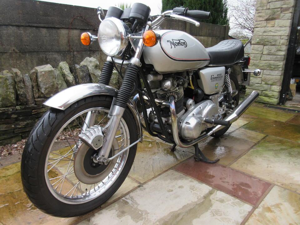 1978 Norton 828cc Commando 850 Frame no. 336089 Engine no. 336089