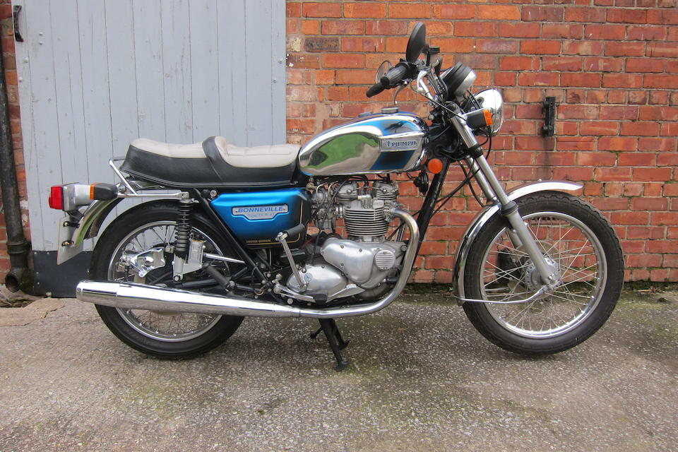 1981 Triumph 744cc T140 Royal Wedding Bonneville Frame no. T140ES HDA30671 Engine no. T140ES HDA30671