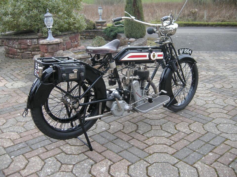 1916 Rover 499cc 3½hp Frame no. 42741 Engine no. 6704