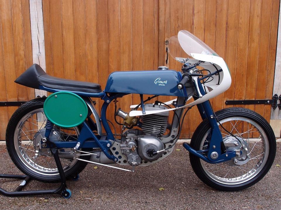1963 Greeves 246cc RAS Silverstone Racing Motorcycle Frame no. 24RAS 192 Engine no. 085E CR1178
