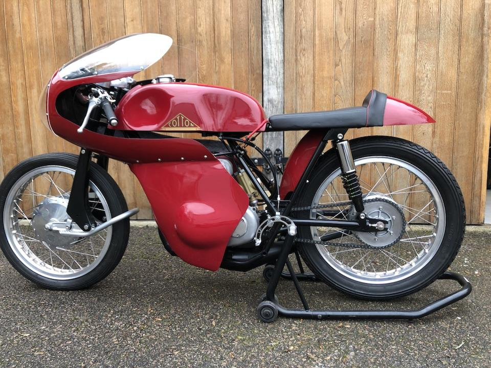 1964 Cotton 247cc Telstar Mk2 Racing Motorcycle Frame no. 63 Engine no. not numbered