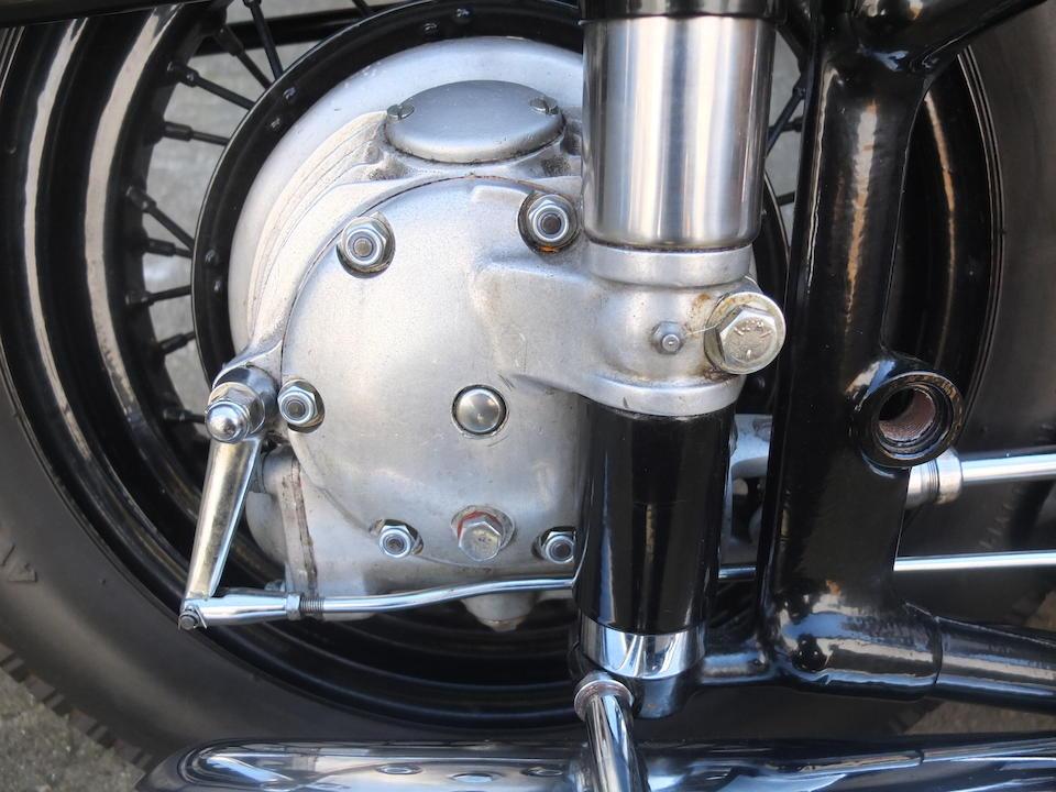 1950 Sunbeam 500cc S7 De Luxe  Frame no. S7 4402 Engine no. S8 8325