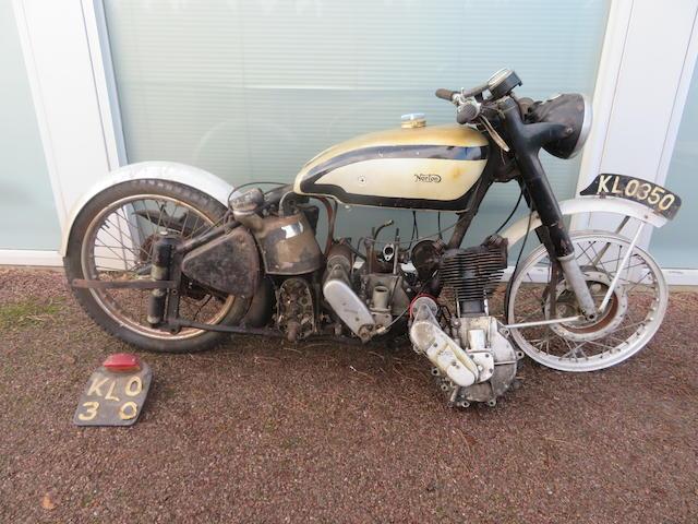 A c.1949 Norton 490cc International Project  ((Qty))