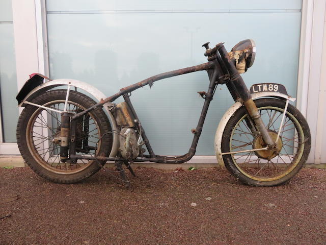 A c.1951 Norton ES2 rolling chassis  ((Qty))