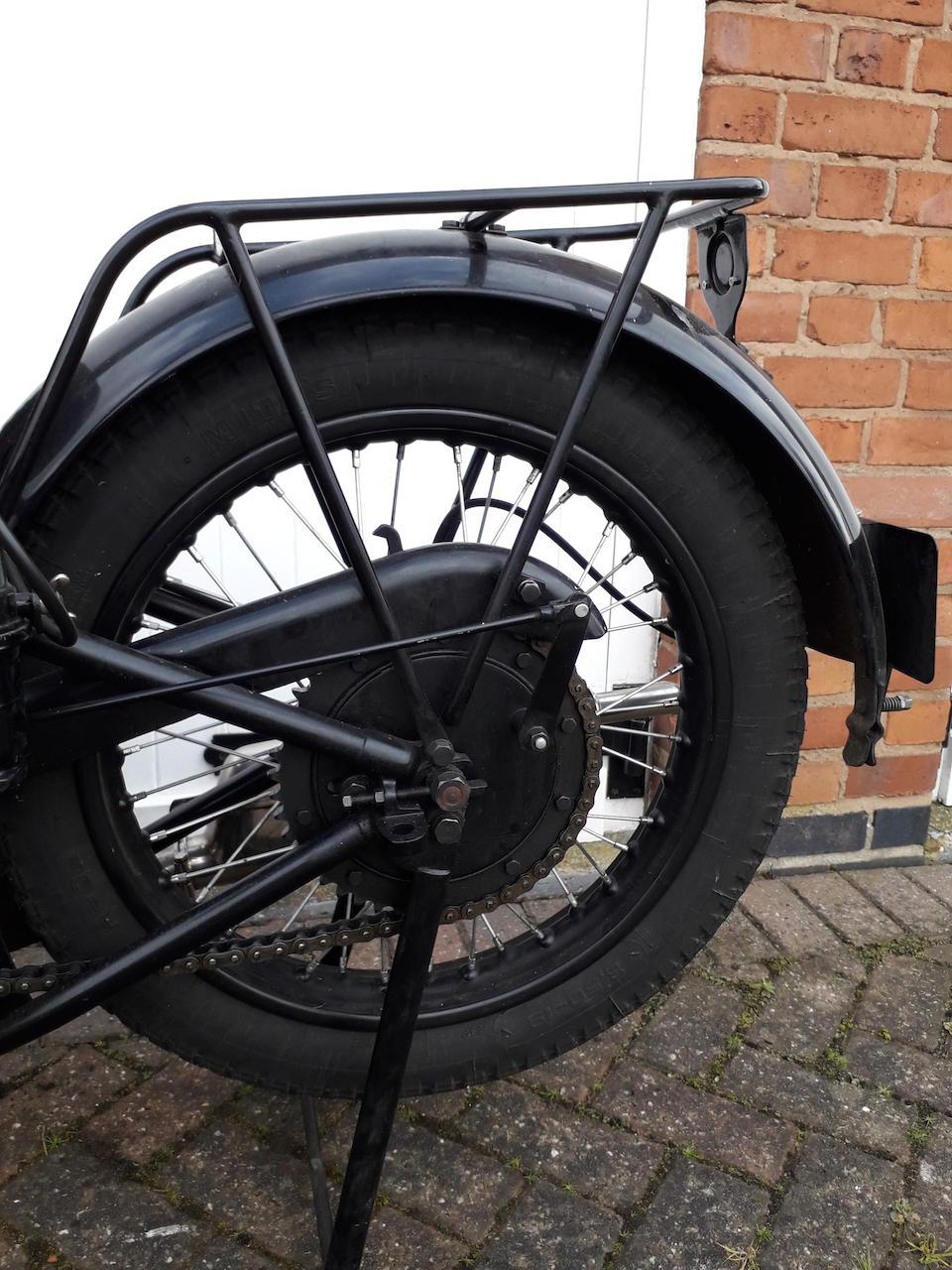 1927 Ariel 3½hp Model D Frame no. V7665 Engine no. V8134 T