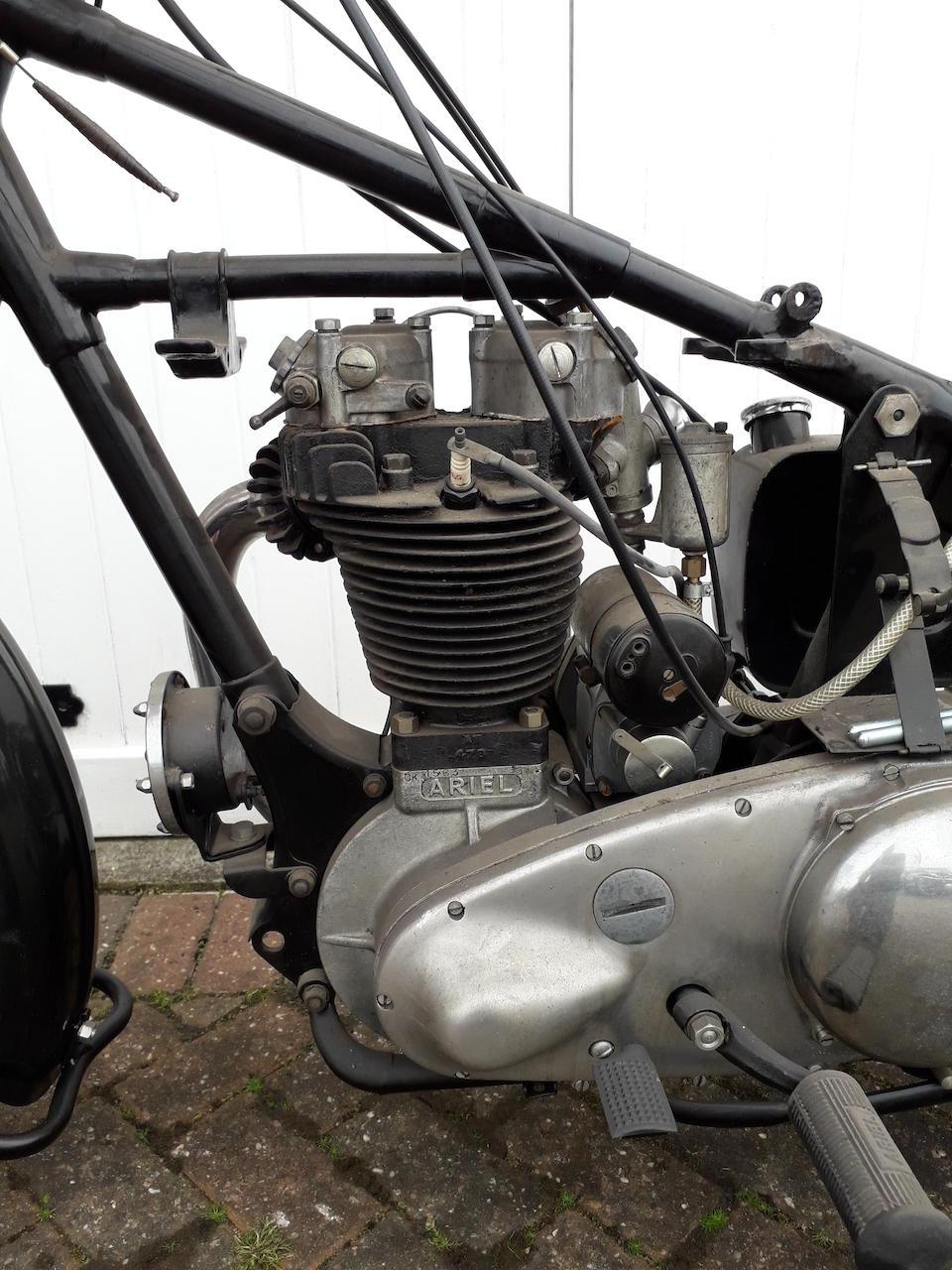 1946 Ariel 499cc VH2 Red Hunter Project Frame no. BP2441 Engine no. CK1563