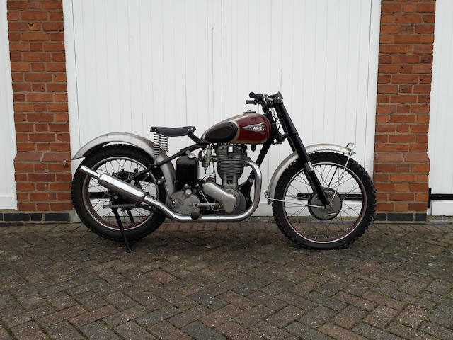 1941/1952 Ariel 497cc 'VCH Trials Special' (see text) Frame no. XG28151 Engine no. TR216